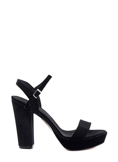 Tanca Topuklu Ayakkabı Siyah